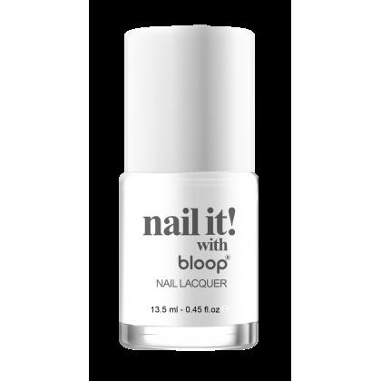 White bloop Nail it Polish